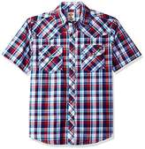 Dickies Men's Short Sleeve Western Shirt