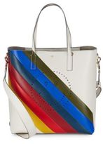 Anya Hindmarch Ebury Rainbow Leather Crossbody Tote