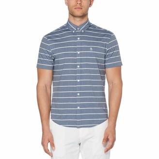Original Penguin Boucle Stripe Shirt