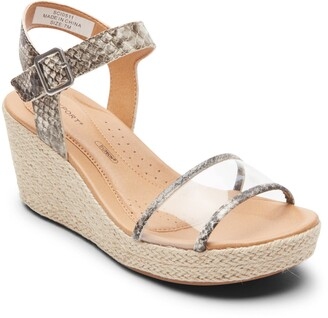 Rockport Lyla Espadrille Wedge Sandal