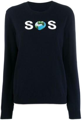 Stella McCartney WATW SOS embroidered jumper
