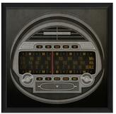 Vintage Radio Gauge (Framed)