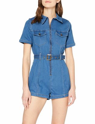 New Look Women's Marrakech Zip Through Playsuit