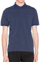 Fred Perry Slim Fit Men's Polo TWIN TIPPED PRINT SHIRT - , L