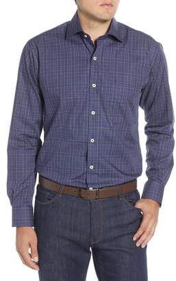 Peter Millar Branson Regular Fit Plaid Button-Up Shirt