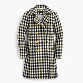 J.Crew Tall double-breasted coat in oxford check