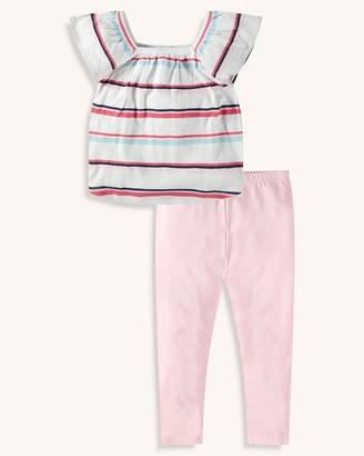 Splendid Toddler Girl Multi Stripe Top Set