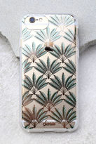 Sonix Palm Deco Clear and Rose Gold Print iPhone 7 Case