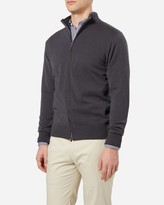 N.Peal The Knightsbridge Zip Cashmere Sweater