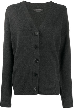 Isabel Marant Knitted Button-Up Cardigan