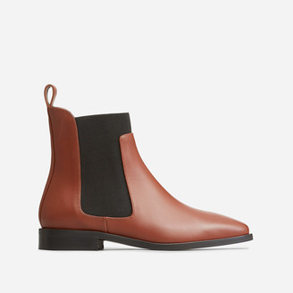 Everlane The Square Toe Chelsea Boot