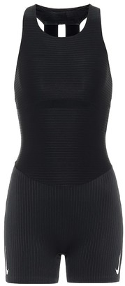 Nike Technical ribbed-jersey bodysuit