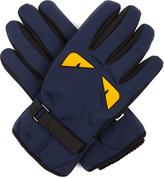 Fendi Bag Bugs-print gloves