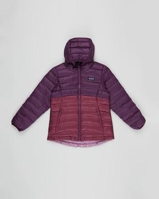 Patagonia Reversible Down Sweater Hoodie - Kids