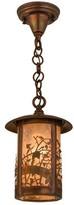 Fulton Apple Branch 1 - Light Lantern Cylinder Pendant Meyda Tiffany