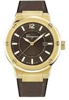 Salvatore Ferragamo F-80 Men's Brown Dial Watch, Model: Fif060016.