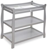 Badger Basket Sleigh Style Grey Changing Table