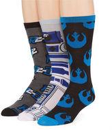 Star Wars STARWARS R2-D2 3-pk. Crew Socks