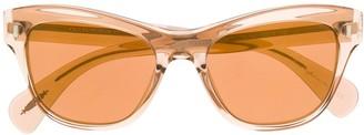 Oliver Peoples Transparent Cat Eye Sunglasses