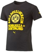 Puma BVB Kids' Slogan T-Shirt
