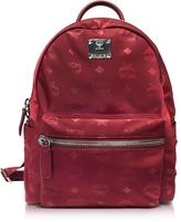 MCM Dieter Monogrammed Nylon Small Backpack
