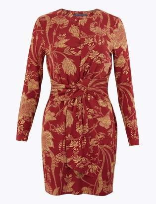 Marks and Spencer PETITE Floral Jersey Bodycon Dress