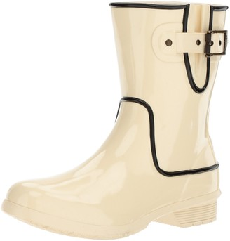 Chooka Women's Waterproof Mid-Height Printed Rain Boot with Memory Foam
