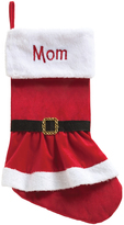Mrs. Claus Coat Personalized Stocking