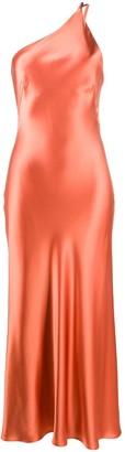 Galvan cropped Roxy dress
