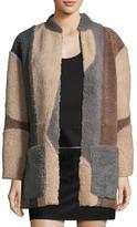 Zadig & Voltaire Mateo Deluxe Shearling Coat