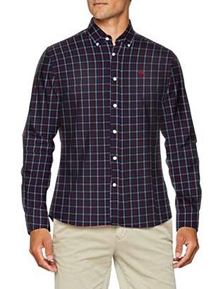 North Sails Men's L\S Regular Casual Shirt,(Size: XX-Large)