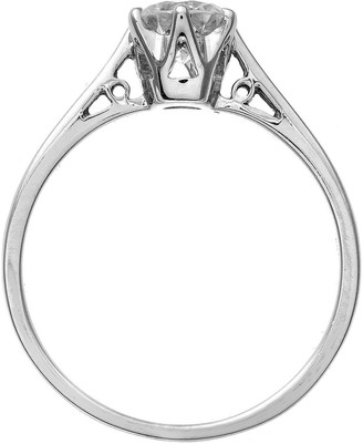 Love Diamond Platinum Certified Diamond 1 Carat Solitaire Ring