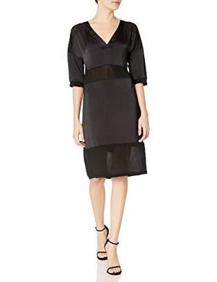 GUESS Women's Half Sleeve Monteray Dress