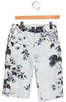 Dolce & Gabbana Boys' Floral Print Shorts