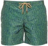 THORSUN Clay-print swim shorts