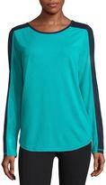 Xersion Long Sleeve Scoop Neck T-Shirt