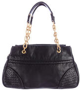 Bottega Veneta Intrecciato-Trimmed Chain Bag