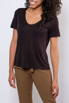 Minimum V Neck Ribbed Tee
