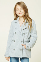 Forever 21 FOREVER 21+ Girls Button-Front Coat (Kids)