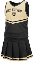 Colosseum Girls Toddler Black Army Black Knights Pinky Cheer Dress