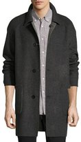 Billy Reid Reversible Virgin Wool-Cashmere Walking Coat