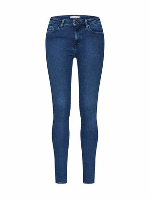 Tommy Hilfiger Women's COMO SKINNY RW A MALA Straight Jeans