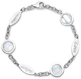 M² Design by Mary Margrill Mother of Pearl Station Bracelet