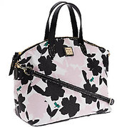 Dooney & Bourke As Is Coated Cotton Flora Satchel