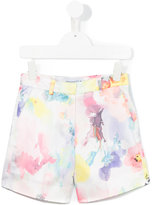Simonetta floral print shorts - kids - Polyester - 4 yrs