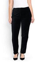 Classic Women's Plus Size Velvet Pants-Blackwatch