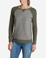 Eddie Bauer Women's Legend Wash Quilted Sweatshirt
