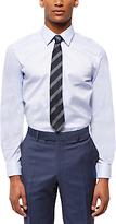 Jaeger Cotton Pindot Regular Fit Shirt, Light Blue