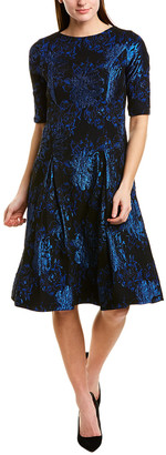 Teri Jon By Rickie Freeman A-Line Dress