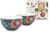 Pip Studio Spring To Life Bowls - Set of 2 - Blue